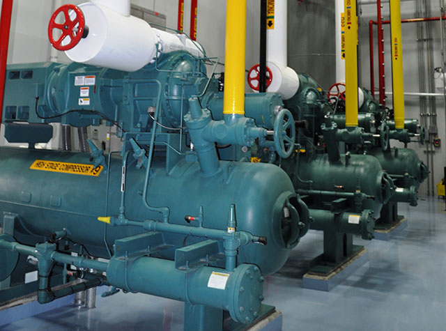 State-of-the-Art Central Ammonia Refrigeration System